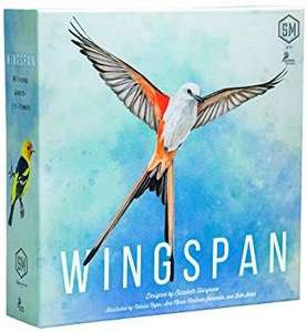 Stonemaier Games - Wingspan 2nd Edition - Board Game £38.74 at Amazon