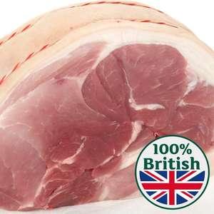 Morrisons British Pork Shoulder Joint £3 per kilo at Morrisons