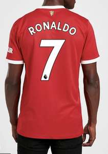 Adidas Manchester United 21/22 Ronaldo #7 Home Shirt PRE £65 Free C&C @ JDSports