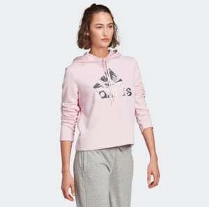 Womens Adidas Essentials Camouflage Logo Hoodie £17.29 with code Free Delivery with creators club @ Adidas