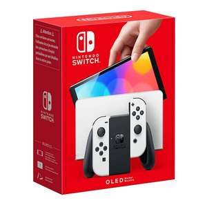 Nintendo Switch Console (OLED) White (Release Date: 08-10-2021) £309.85 delivered @ ShopTo