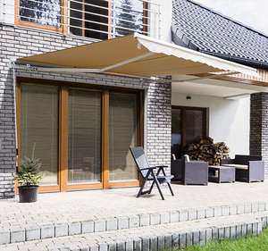 Outsunny Manual Retractable Awning, 3x2.5 m-Ivory White £109.19 using code Delivered @ Aosom UK Mainland