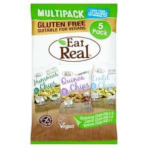 Eat Real Chips Multipack 5x22g/25g 79p @ Tesco