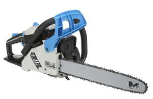 Mac Allister Petrol Chainsaw MCSWP40 40cc 400mm Built In Anti-vibration System used £52.48 @iforce_marketzone Ebay