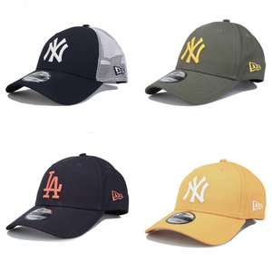 Men's New Era Baseball Caps (Various Colours) £9.99 + Free Standard Delivery With Code @ Get The Label