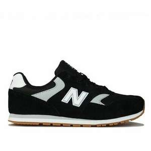 New Balance Junior 393 Trainers in Black Size 3-5.5 £17.55 @ g.t.l_outlet / ebay