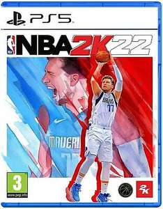 NBA 2K22 (PS5) Pre Order Out 10th Sept £42.49 with code @ Boss Deals / eBay