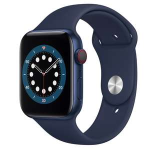 Refurbished Good / Very Good / Pristine Apple Watch Series 6 - 40mm/44mm - GPS/4G from £232 with code @ MusicMagpie / eBay