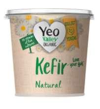 Yeo Valley Organic Kefir Natural Yogurt and Mango & Passion Fruit Fermented Yogurt - 98p @ Asda