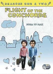 Flight Of The Conchords: Seasons 1-2 [DVD] [2009] £5.23 @ Amazon (£2.99 p&p non prime)
