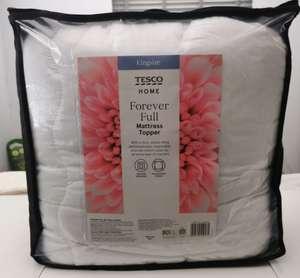Tesco mattress topper £7.50 at Tesco Southend