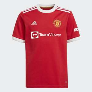 Manchester United, youth tee £50 via adidas app