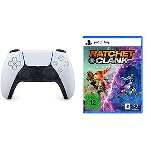 PlayStation 5 Dualsense Controller + Ratchet and Clank Rift Apart Bundle £92.03 delivered (or £89.41 using fee free card) @ Amazon Germany