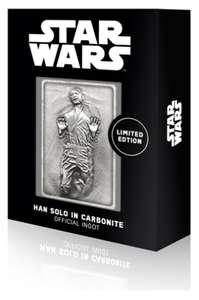 STAR WARS: OFFICIAL INGOT – HAN SOLO - £13.29 + £2.99 @ Zatu Games