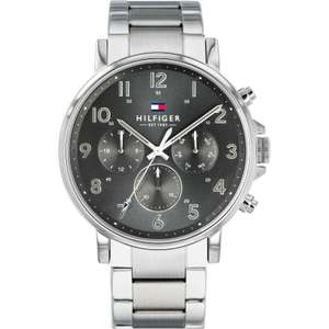 Tommy Hilfiger 1710382 Men's Grey Chronograph Watch £89 with code + Free Delivery From Watch Pilot