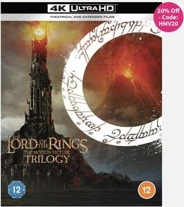 Lord of The Rings 4K Ultra HD £59.99 with code @ HMV