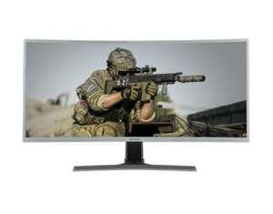 "electriQ 35"" WQHD 100Hz HDR FreeSync Curved UltraWide Gaming Monitor £289.97 @ Laptops Direct"