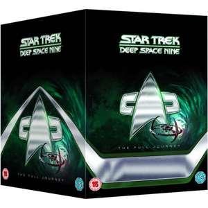 Star Trek: Deep Space Nine - The Full Journey [DVD] £42.99 with code @ Zavvi
