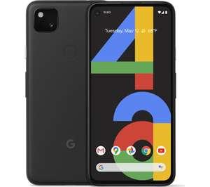 Google Pixel 4a 128GB Mobile Phone - Just Black £259 + £6 Sim @ Currys / PC World