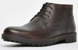 Red Tape Heritage Langdale leather mens ankle boots in dark brown for £19.49 delivered using code @ Express Trainers