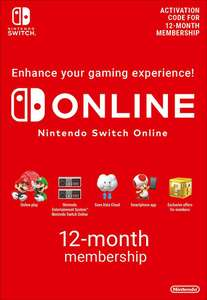 Nintendo Switch Online Membership - 12 Months eShop Key £12.83 using code @ Eneba / GamesFederation