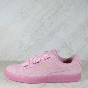 Womens Puma Suede Heart Reset Prism Pink Trainers £21.99 + Free Delivery from bigbrandoutlet2015 /eBay
