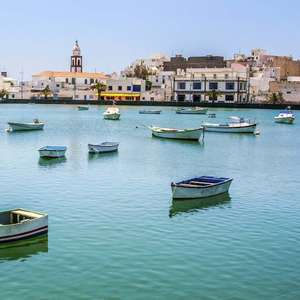 Direct return flight to Lanzarote-Departing London Gatwick with Nov departures - £17.98 with Wizzair