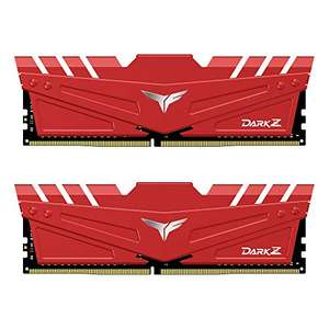 TEAMGROUP T-Force Dark Z 32GB (2x16GB) DDR4 3200MHz CL16 Memory Kit, £121.36 (UK Mainland) sold by Amazon US on Amazon