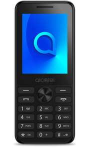 Alcatel 20.03 Dark Grey 4MB Mobile Phone - £8 + £10 Top Up (Possible Topcashback) @ Vodafone