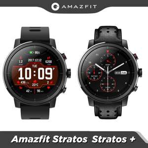 Xiaomi Amazfit Stratos (pace2) Smartwatch £59.16 or Stratos+ £65.14 (with code) @ AliExpress / Amazfit Global Retail Store