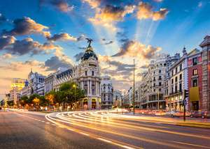 Direct return flights to Madrid-Departing London Stansted with Nov departures - £15.98 with Ryanair