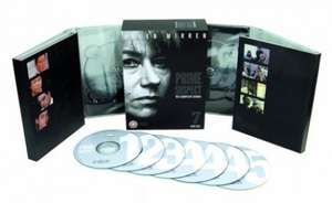 Prime Suspect 1-5 dvd (used very good) £3.23 delivered with code @ World of Books