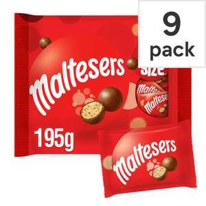 Maltesers fun size multipack 9 bags195g - £1.50 at Tesco