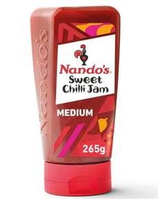 Nando's Sweet Chilli Jam Medium 285G - £1.50 Clubcard Price @ Tesco
