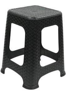 Rattan effect plastic stool, Wilko In-Store (Pembroke Dock) - £3
