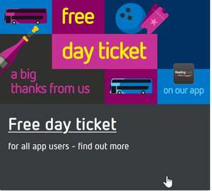 Free day bus ticket @ Reading Buses valid until 30/09/2021 - Registration in app required by 12/09/2021
