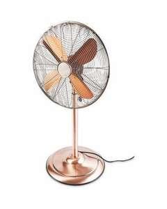 Aldi - Kirkton House Pedestal Fan (only copper coloured is available) - £19.99 + £3.95 Delivery @ Aldi