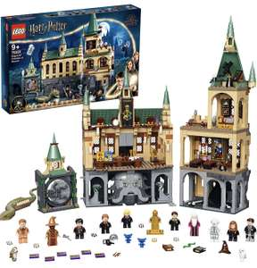 LEGO Harry Potter Castle Hogwarts Chamber of Horror Toy Set with a Golden Mini Figure and the Great Hall 76389 £79.96 @ Amazon DE