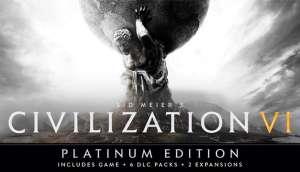 Sid Meier's Civilization VI Platinum Edition (Mac, Linux, PC) £8.93 with code @ Gamersgate