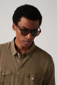 Burton Brown Wayfarer Recycled Sunglasses for £1.80 next day delivered using code @ Burton