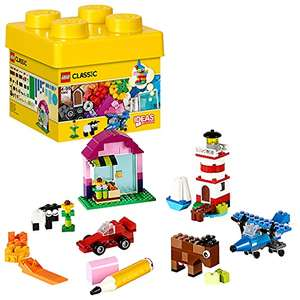 LEGO Classic 10692 Creative Bricks, Classic Colorful Building Set with Storage Box £7.98 with voucher (+£4.49 non Prime shipping) Amazon