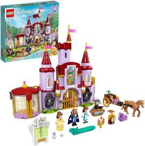 LEGO Disney Belle & The Beasts Castle - Model 43196 (6+ Years) £44.89 @ Costco online
