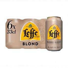 Leffe 6 330ml cans Blonde or Brown £6.99 @ Home Bargains Selby