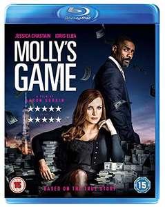 Molly's Game £1.90 + £2.99 NP @ Amazon