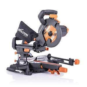 Evolution R210SMS+ Sliding Mitre Saw - £119 @ Amazon