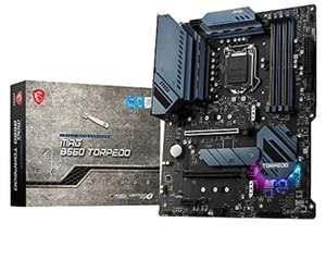 MSI MAG B560 TORPEDO ATX Gaming Motherboard (10th/11th Gen Intel Core, LGA 1200 Socket) - £120.90 - Sold by Amazon EU @ Amazon