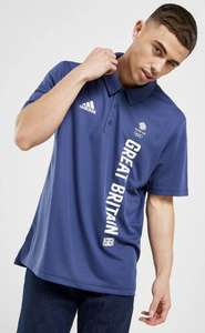 Adidas Team Men's GB Polo Shirt - £11.99 delivered or £11 click and collect from JD Sports