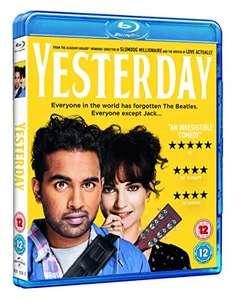 Yesterday (Blu-ray) £4.99 (Prime) + £2.99 (non Prime) at Amazon