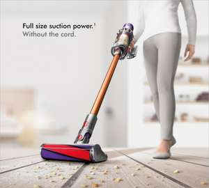 Refurbished Dyson Cyclone V10 Absolute Cordless Vacuum £277.49 with code at DYSON on eBay