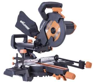 Evolution R210SMS+ 230v 210mm Multi-material Sliding Mitre Saw - £119 Delivered at FFX